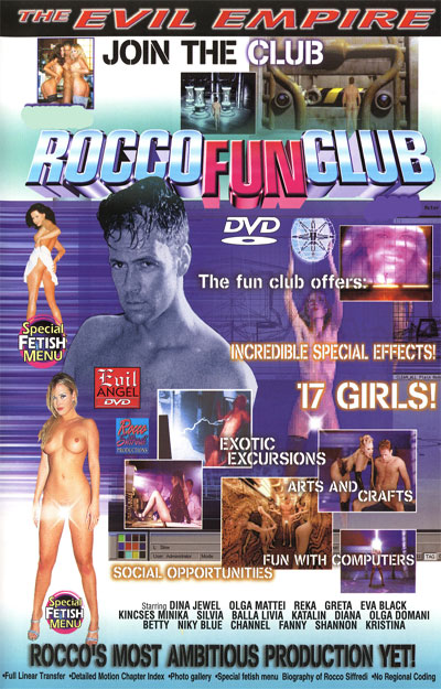 Rocco Fun Club DVD