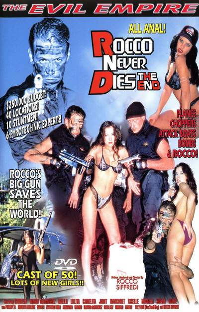 Rocco Never Dies The End DVD