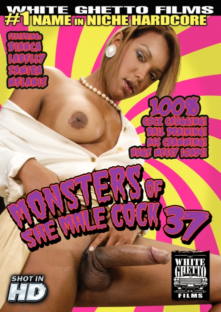 Monsters Of She Male Cock #37 DVD