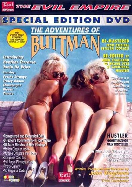 The Adventures of Buttman DVD
