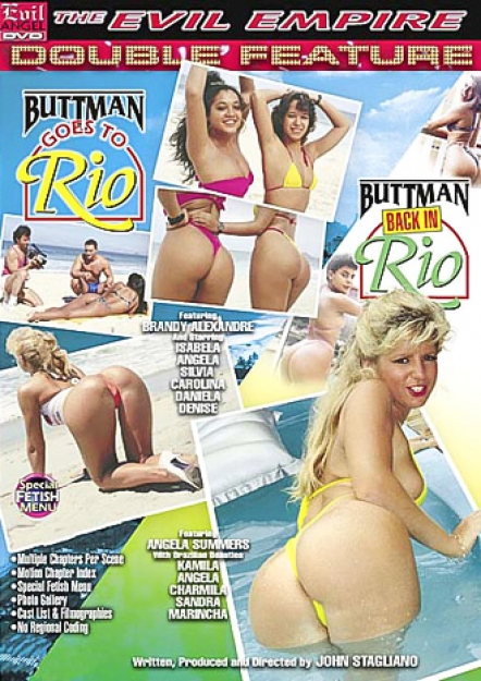 Buttman Goes To Rio DVD