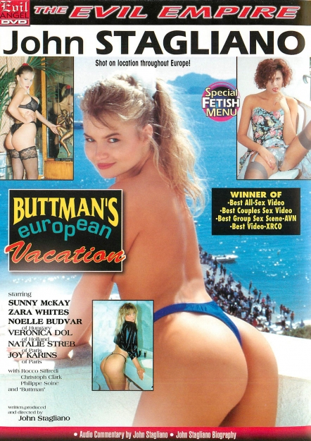 Buttman's European Vacation DVD