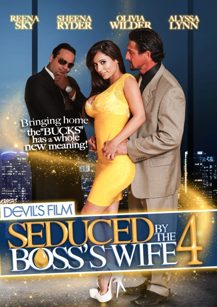 Seduced By The Boss's Wife #04 DVD