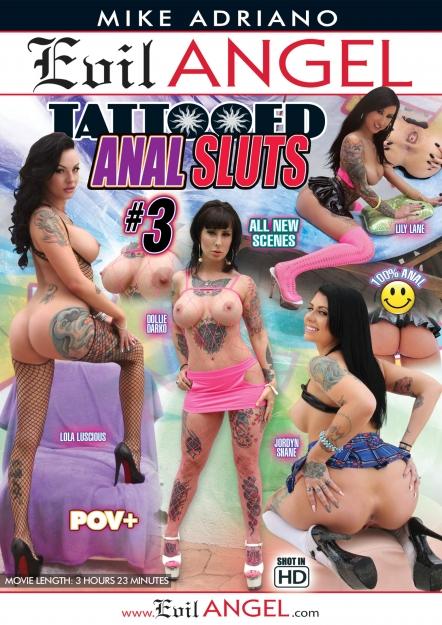 Tattooed Anal Sluts #03 DVD
