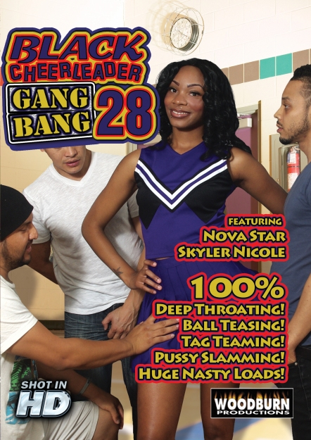 Black Cheerleader Gang Bang #28