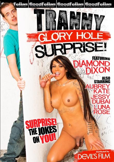 Tranny Glory Hole Surprise DVD