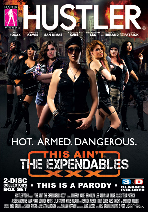This Ain't The Expendables XXX DVD