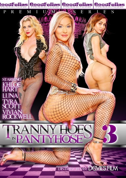 Tranny Hoes In Pantyhose #03 DVD