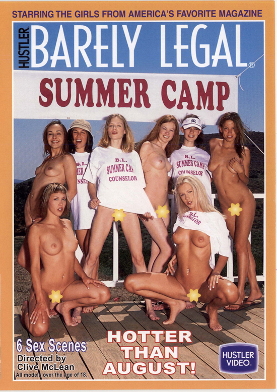 Barely Legal Summer Camp #1 DVD