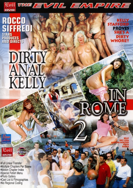 Dirty Anal Kelly In Rome #02 DVD
