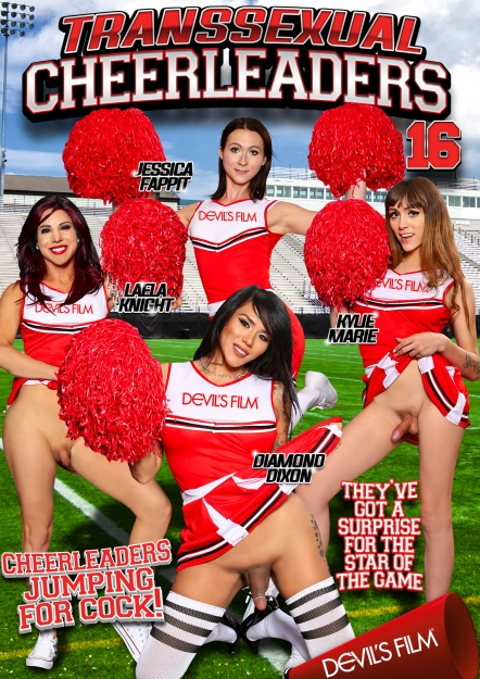 Transsexual Cheerleaders #16 DVD