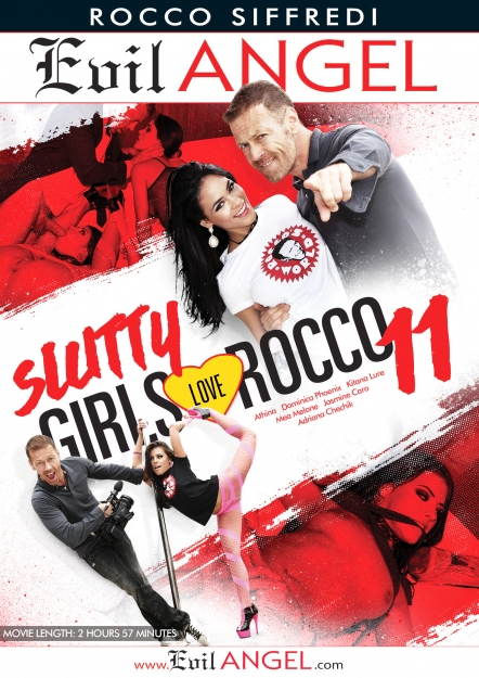 Slutty Girls Love Rocco #11 DVD