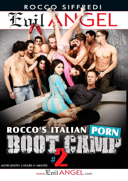 Rocco's Italian Porn Boot Camp #02 DVD