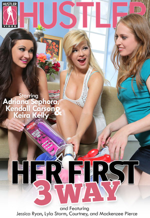 Her First Three Way DVD