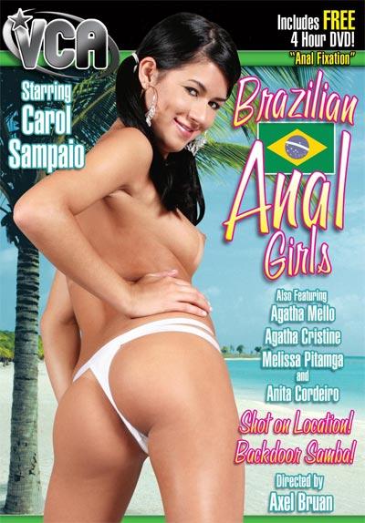 Brazilian Anal Girls DVD