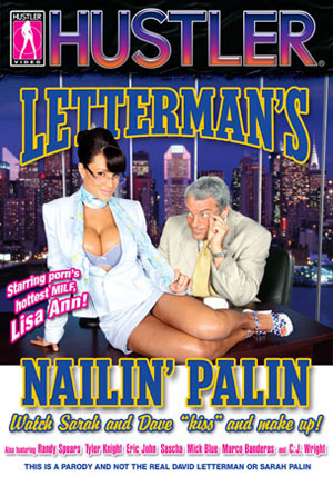 Letterman's Nailin' Palin DVD