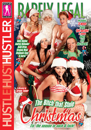 Barely Legal The Bitch That Stole Xmas DVD