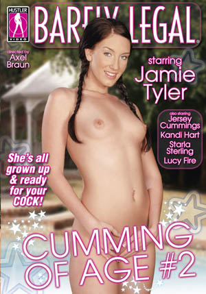 Barely Legal: Cumming of Age #2 DVD