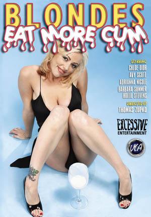 Blondes Eat More Cum DVD