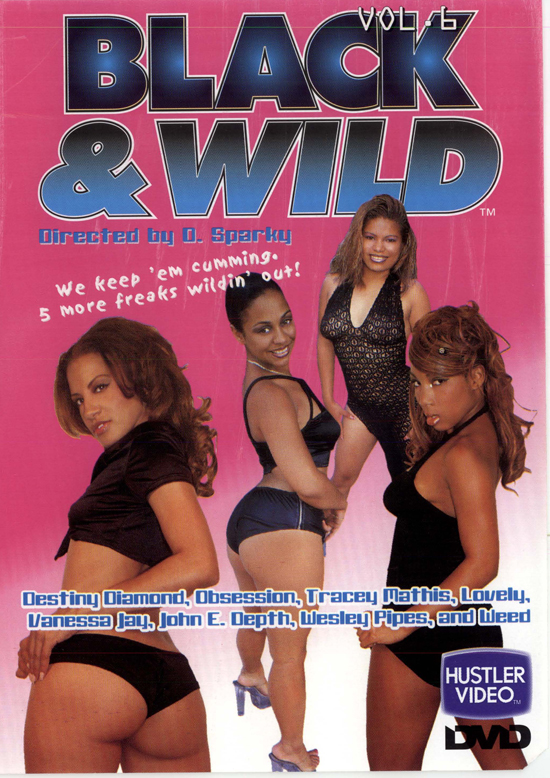 Black and Wild #6 DVD