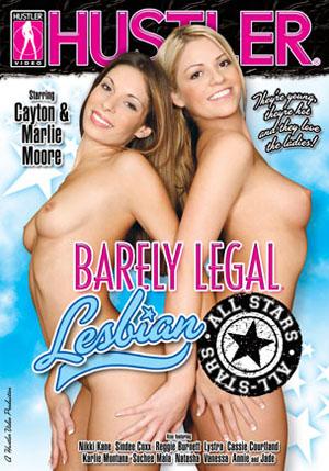 Barely Legal Lesbian All Stars DVD