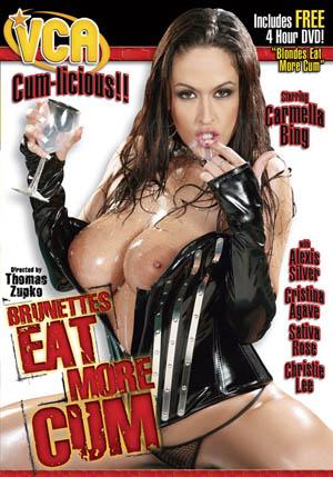 Brunettes Eat More Cum DVD