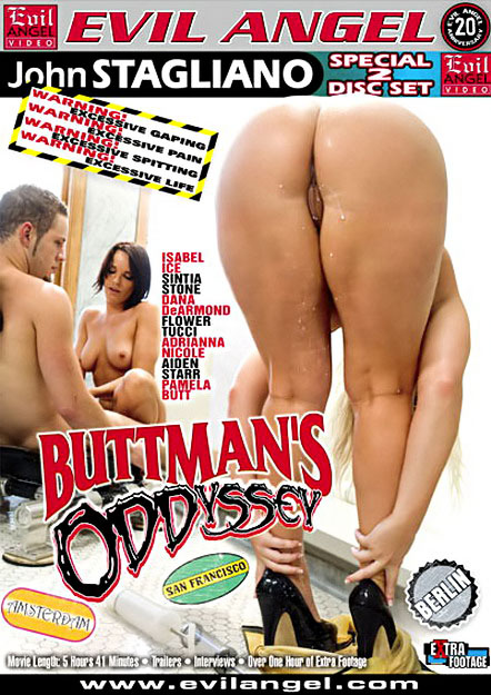 Buttman's Oddyssey DVD