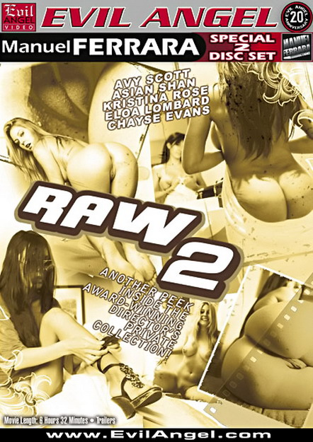 Raw #02 DVD
