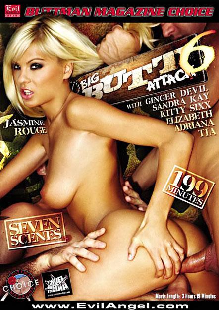 Big Butt Attack #06 DVD