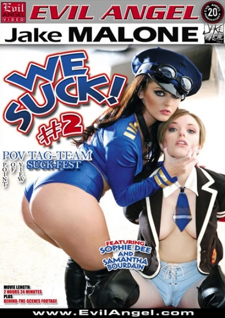 We Suck #02 DVD