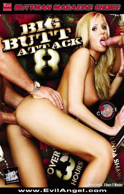 Big Butt Attack #08 DVD
