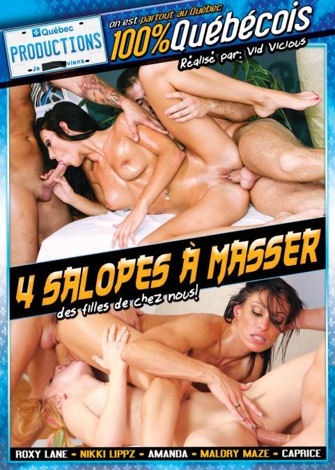 4 Salopes à Masser