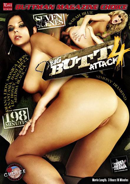 Big Butt Attack #04 DVD