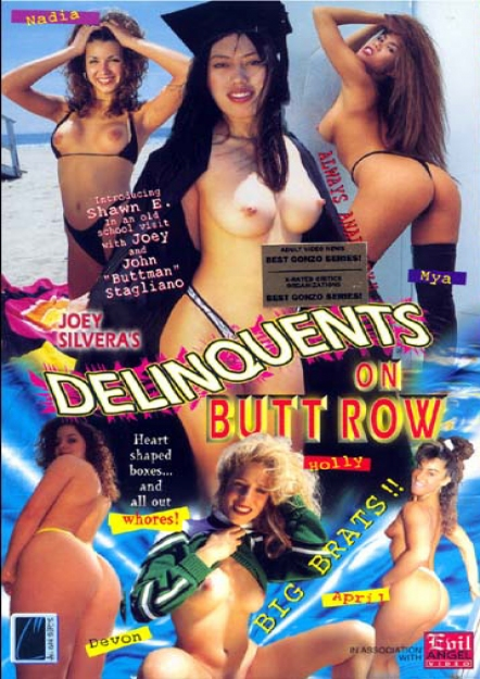 Delinquents On Butt Row DVD