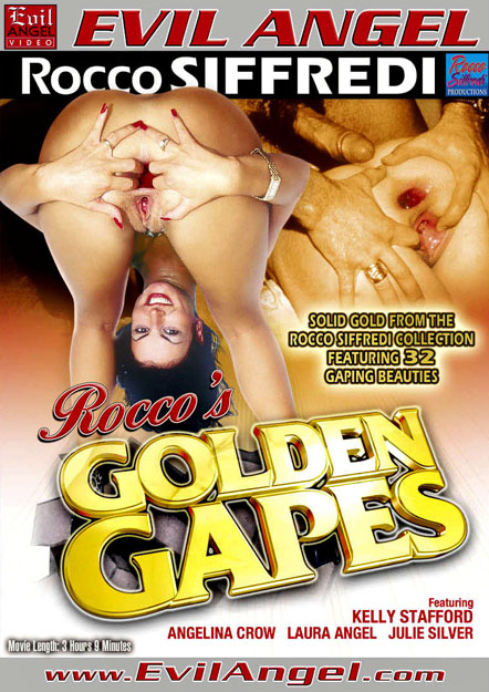Rocco's Golden Gapes DVD