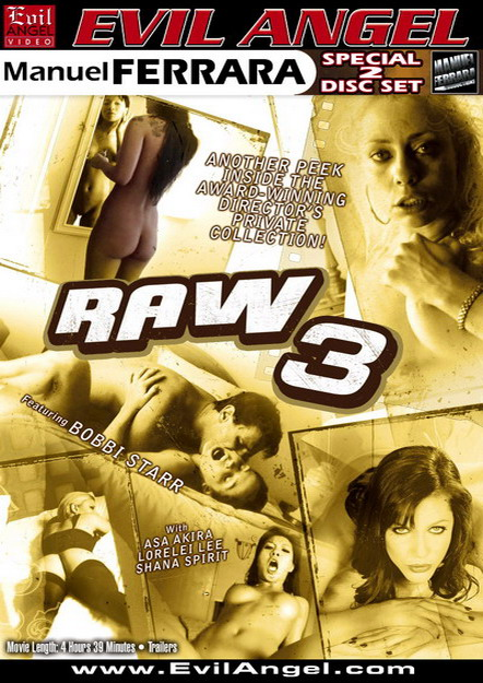 Raw #03 DVD