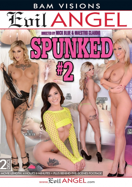 Spunked #02 DVD