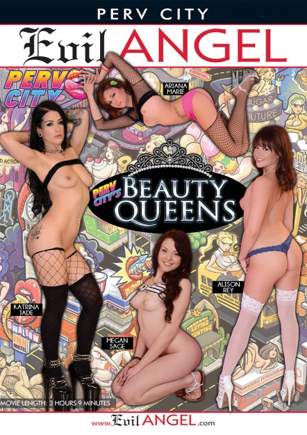 Perv City's Beauty Queens DVD