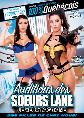 Auditions des Soeurs Lane DVD