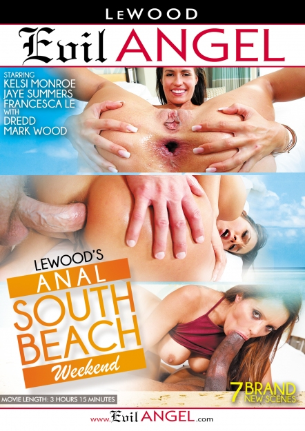 LeWood's Anal South Beach Weekend DVD