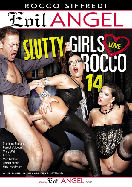 Slutty Girls Love Rocco #14 DVD