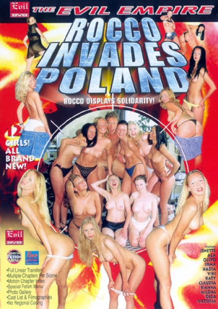Rocco Invades Poland DVD