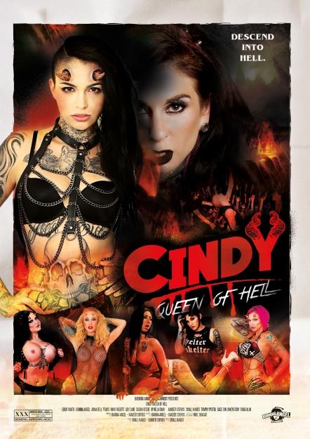 Cindy Queen Of Hell DVD
