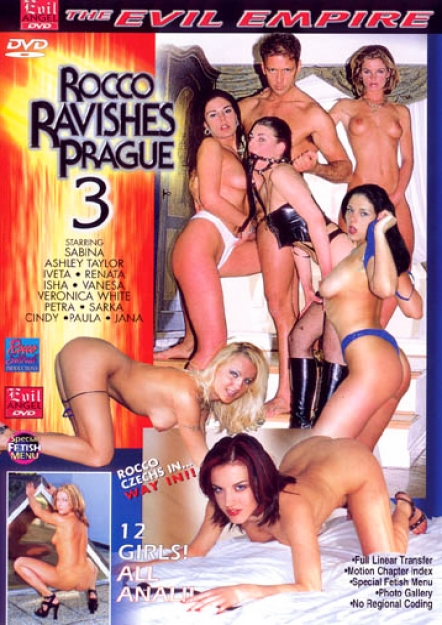 Rocco Ravishes Prague 3 DVD