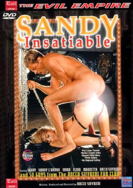 Sandy Insatiable DVD