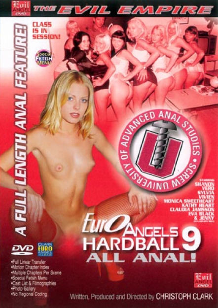 Euro Angels Hardball 9: All Anal DVD