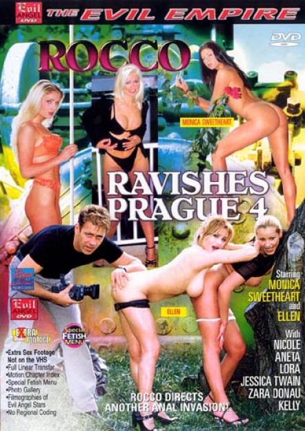 Rocco Ravishes Prague 4 DVD