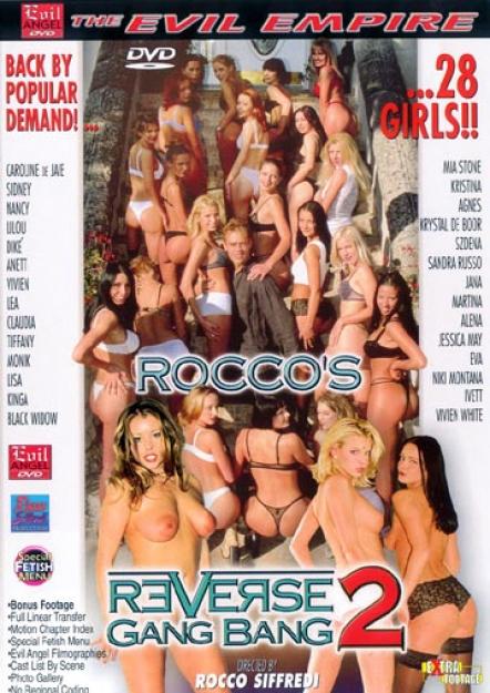 Rocco's Reverse Gang Bang 2 DVD