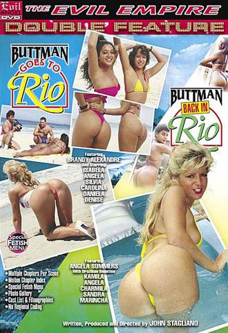 Buttman Goes to Rio - Buttman Back in Rio SET DVD