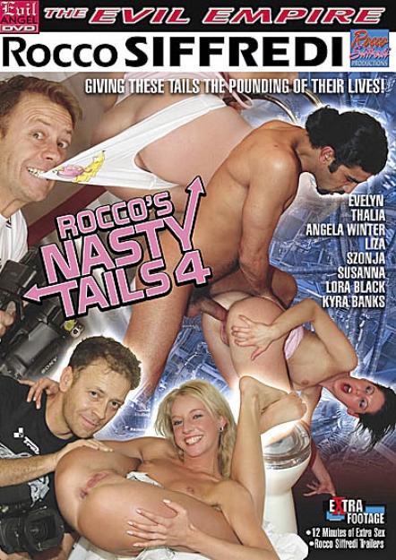 Rocco's Nasty Tails 4 DVD